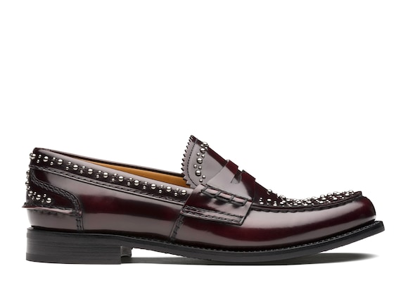 Polished Fumè Loafer  Stud