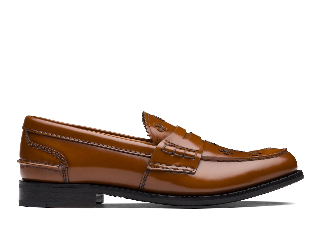 Pembrey blossom Church's Polished Binder Loafer Appliqué Brown
