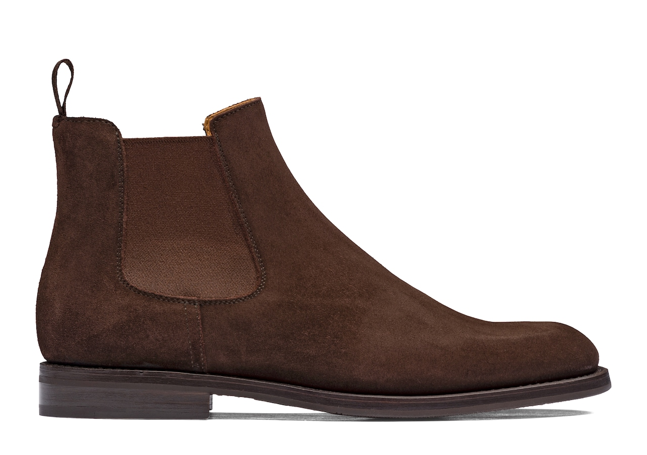 Monmouth wg Church's Suede Chelsea Boot Brown