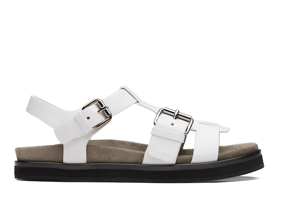 Calf Leather Footbed Sandal