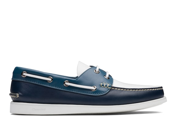 Antic Calf Leather Boat Shoe