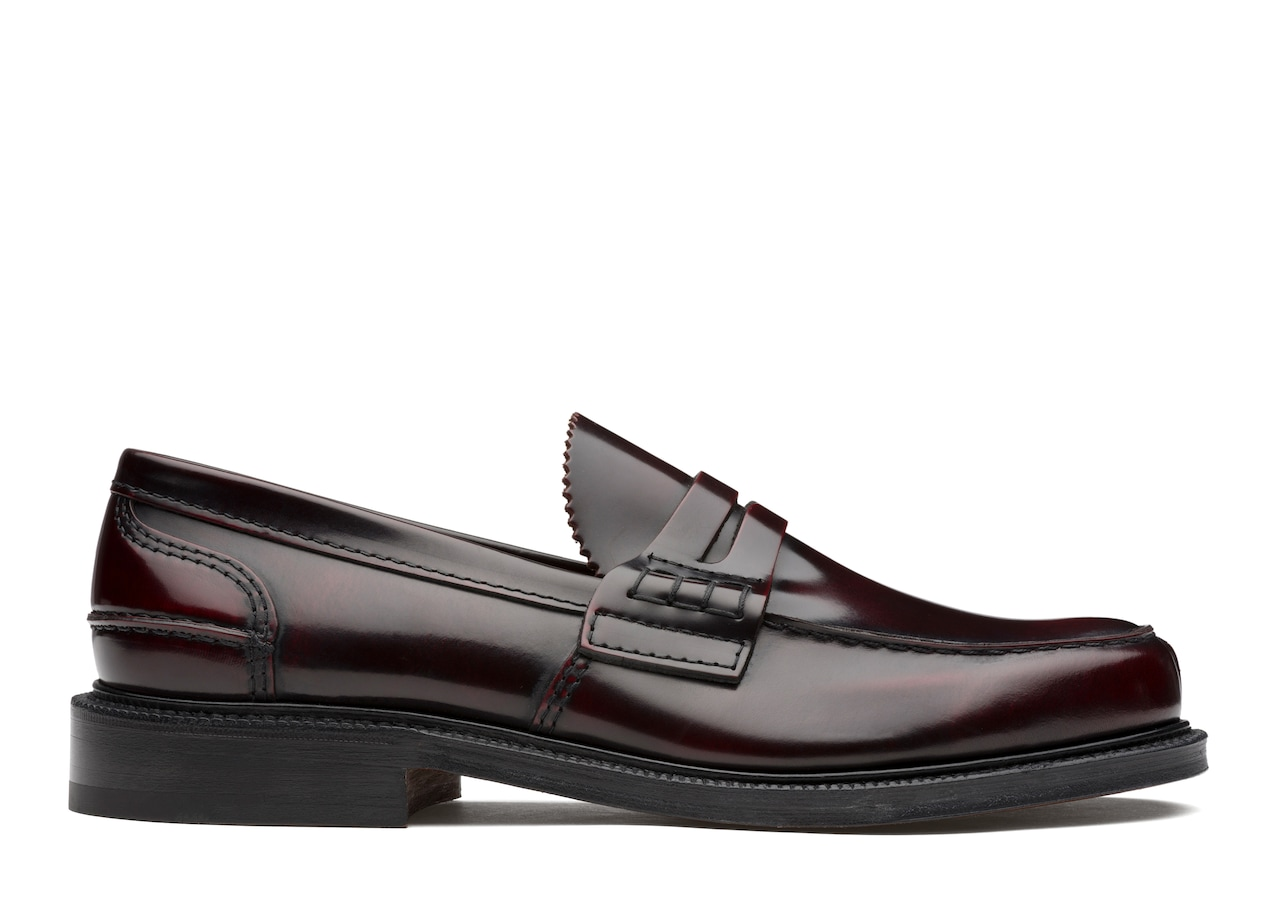 Willenhall Church's Bookbinder Fumè Loafer Burgundy