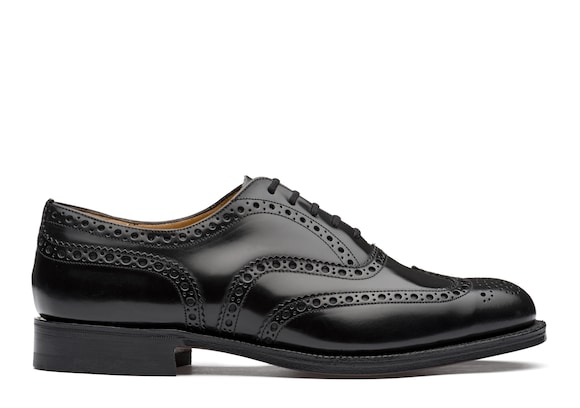 Oxford Brogue in Pelle di Vitello Spazzolato