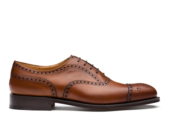Oxford Brogue in Pelle Nevada