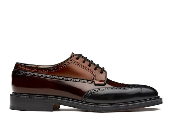 Polished Binder Derby Brogue Tricolor