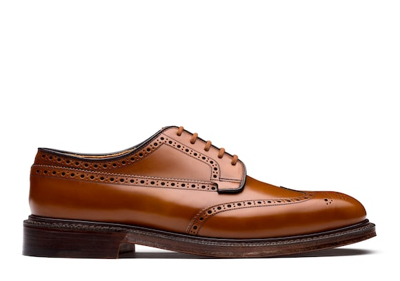 Polished Binder Derby Brogue