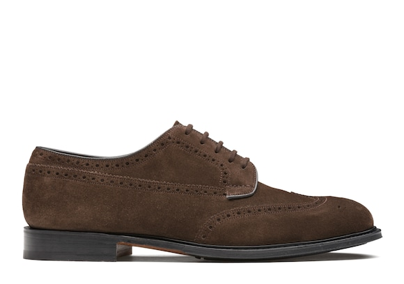 Suede Derby Brogue