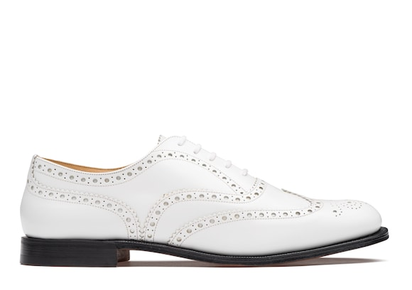 Oxford Brogue in Pelle Spazzolata Lucida