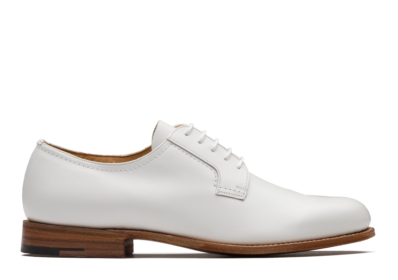 Barkson Church's Calf Leather Derby White