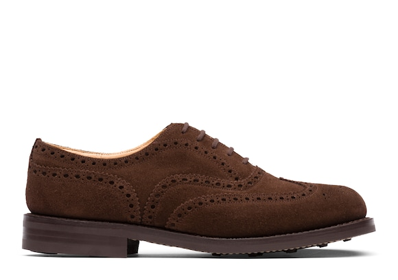 Suede Oxford Brogue