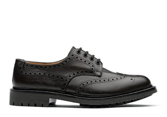 Derby Brogue in Pelle Pieno Fiore Highland