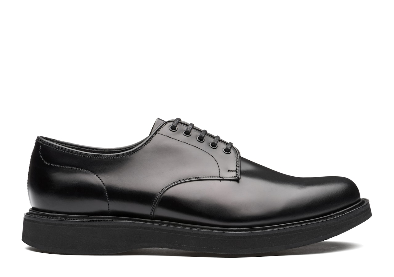 Leyton 5 Church's Calf Leather Derby Black