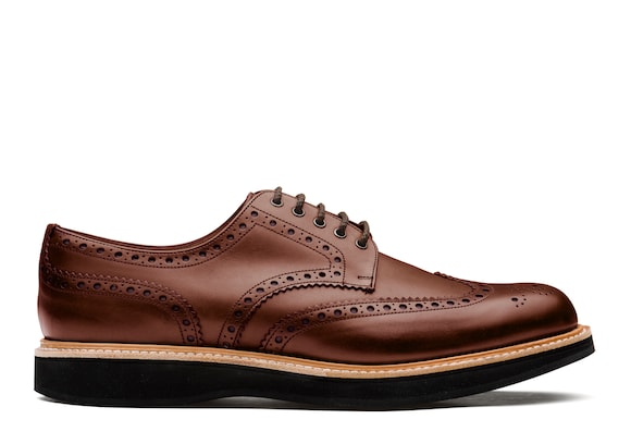 Derby Brogue in Pelle di Vitello