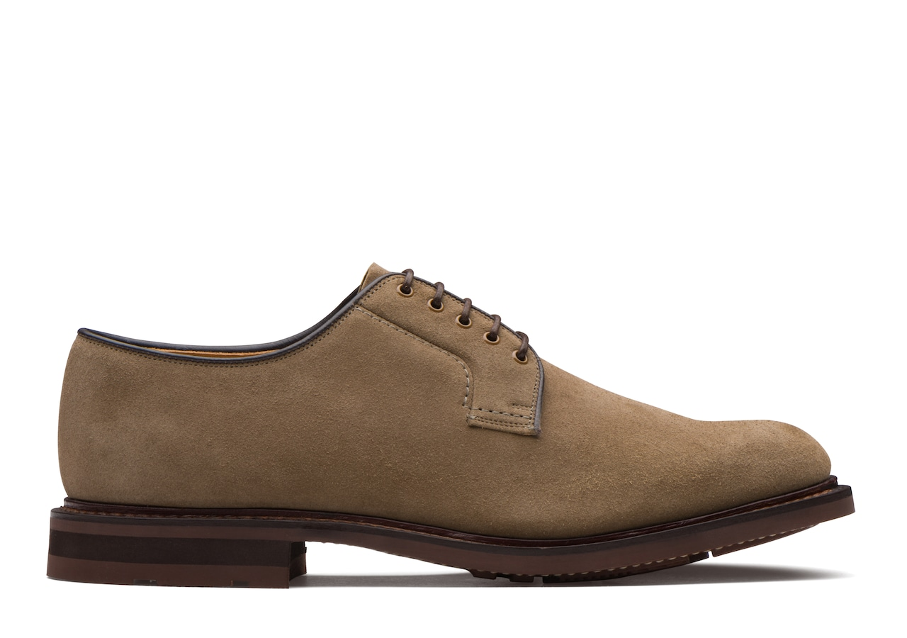 Bestone Church's Suede Derby Grey