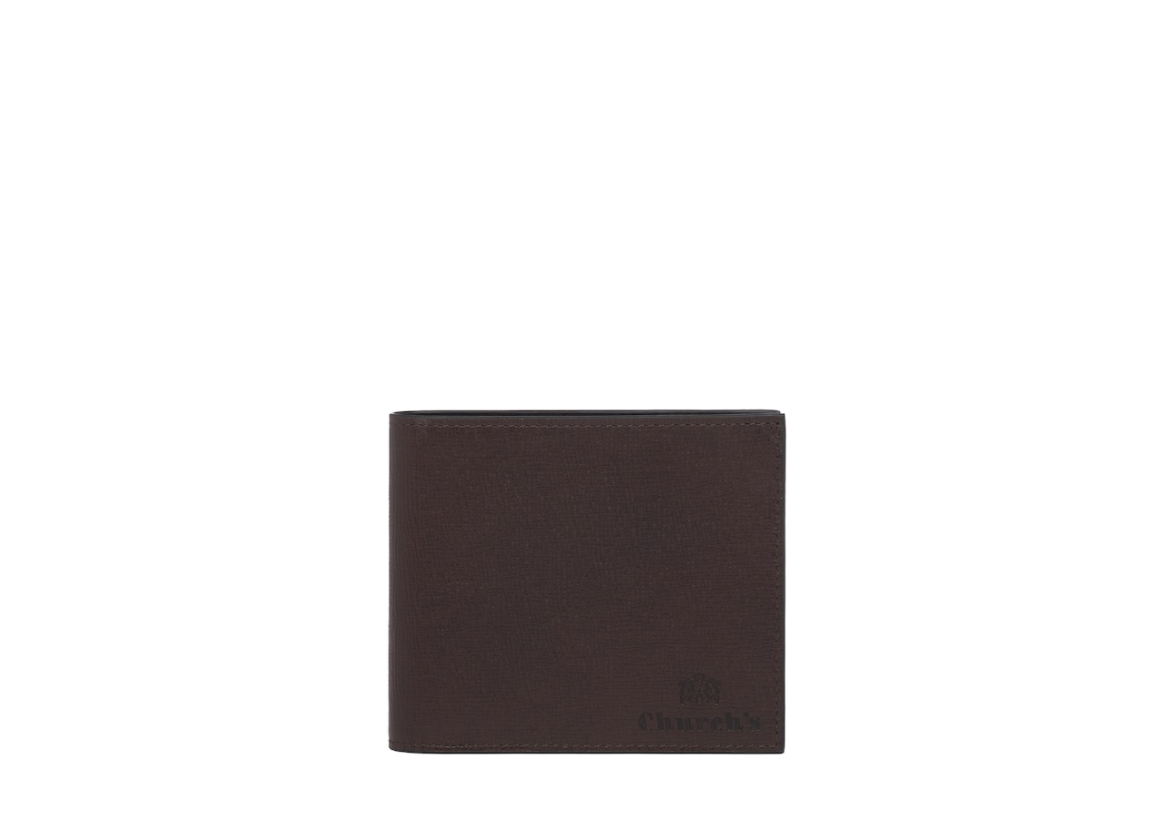 Billfold wallet Church's St James Leather 8 Card Wallet Brown