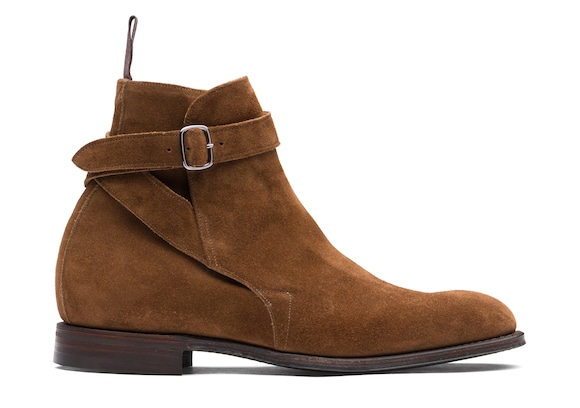 Suede Strap Boot