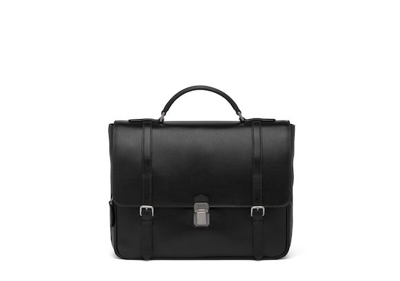 St James Leather Satchel